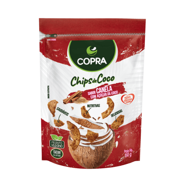 Cinnamon Flavored Coconut Chips