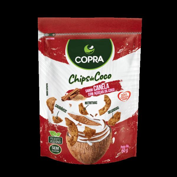 Chips de Coco Sabor Canela