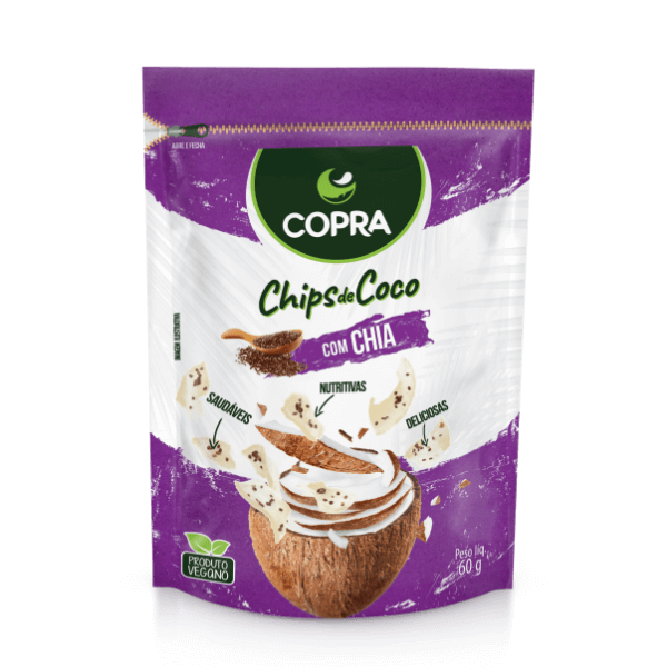 Chia Flavored Coconut Chips
