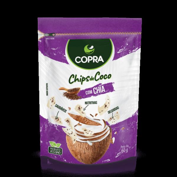 Chips de Coco Sabor Chia