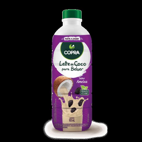 Leite de Coco para Beber – Sabor Ameixa