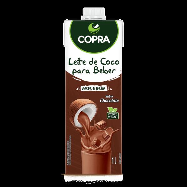 Leche de Coco con Sabor a Chocolate (Vegano)