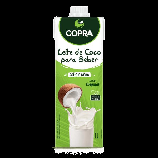 Leite de Coco Tradicional (Vegano)