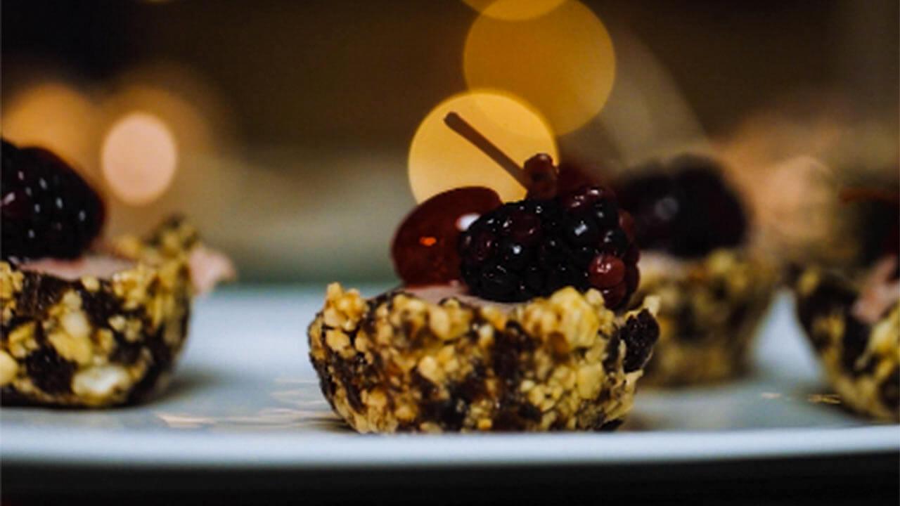 Ceia de Natal – Tortinha de Frutas Vermelhas