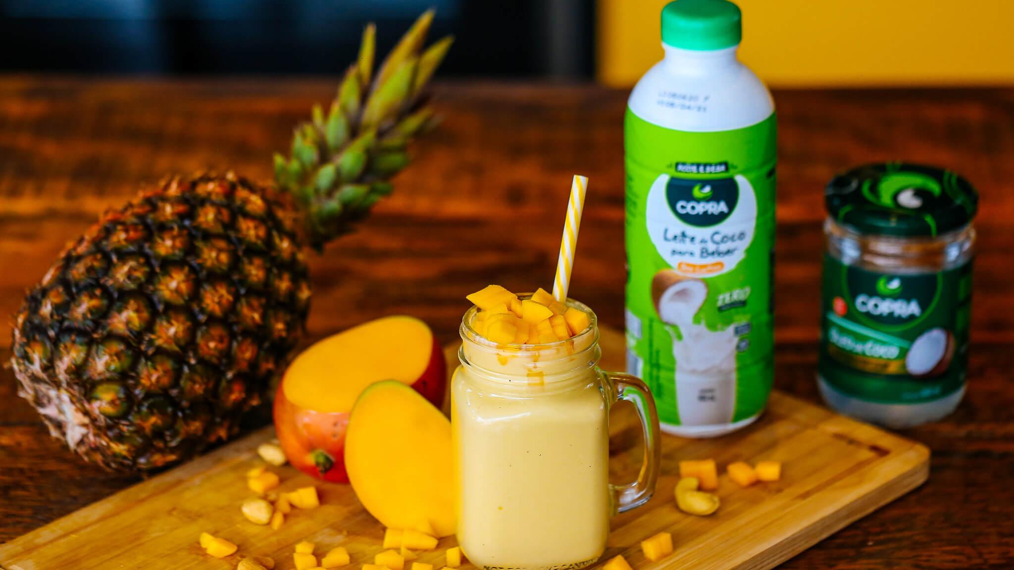 Milkshake de Frutas